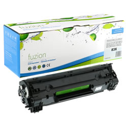 HP CF283X High Yield Toner - Black- New Compatible - Budget Printing & Supplies
