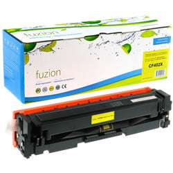HP LaserJet Pro M252n HY Toner - cf402 201 - Yellow- New Compatible - Budget Printing & Supplies