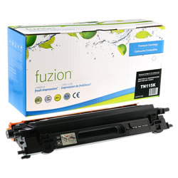 Brother  TN115 BK-Compatible New Toner ( High Yield of TN110) - Budget Printing & Supplies
