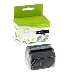 HP #02 Inkjet - Black- Remanufactured - Budget Printing & Supplies