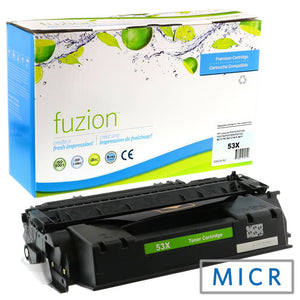 HP Q7553X (53 X) New Compatible MICR Toner - Black - Budget Printing & Supplies