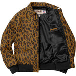 "SUPREME x SCHOTT NYC SUEDE A2 JACKET ""CHEETAH"" - ATLAS"