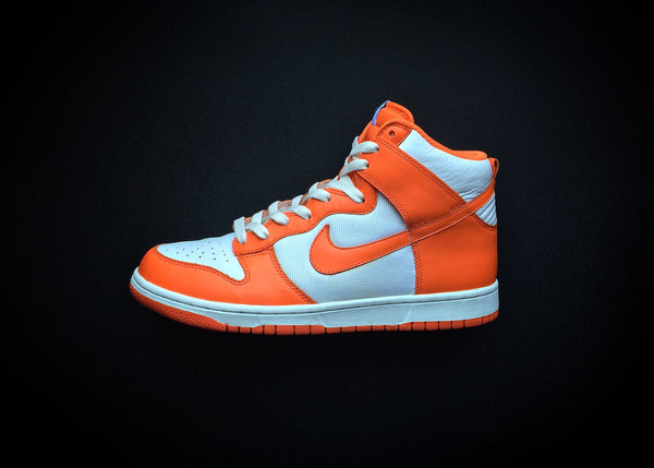 "NIKE DUNK HIGH SAIL ""ORANGE BLAZE - SYRACUSE"" (2009)"