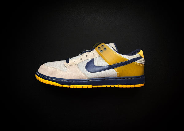 "NIKE DUNK LOW AIR ZOOM DUNKESTO ""MAIZE - NAVY"" (2006) - ATLAS"