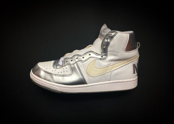 "NIKE TERMINATOR HIGH ""METALLIC SILVER"" [2009]"