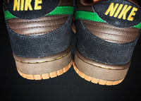 "NIKE DUNK LOW 6.0 NKE ""BROWN RASTA"" (2008) - ATLAS"