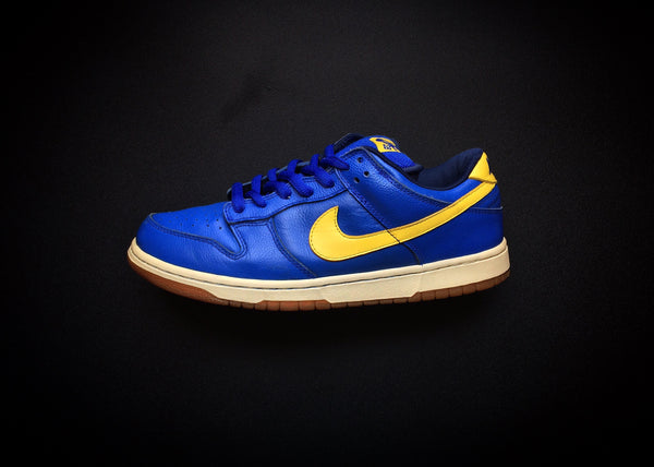 "NIKE DUNK LOW PRO SB ""BOCA JUNIORS"" (2005) - ATLAS"