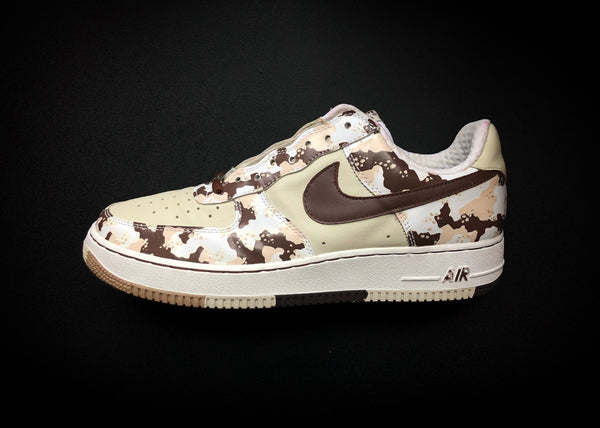 "NIKE AIR FORCE 1 LOW PREMIUM ""BIRCH - CHOCOLATE CAMO"" (2006)"