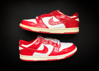 "NIKE DUNK LOW ""PATENT LEATHER RED - ST. JOHNS"" (2001) - ATLAS"