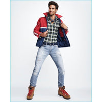 GAP x GQ x MICHAEL BASTIAN DISTRESSED DENIM JEANS - ATLES
