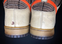 "NIKE DUNK HIGH PREMIUM ""TWEED - ORANGE BLAZE"" (2007) - ATLAS"