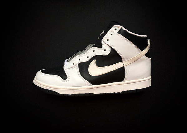 "NIKE DUNK HIGH LE ""WHITE - BLACK"" (1999) - ATLAS"