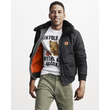GAP x GQ x KINFOLK FAUX FUR BOMBER JACKET - ATLAS