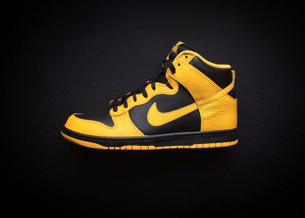 "NIKE DUNK HIGH ""BLACK MAIZE - WU-TANG INSPIRED"" (2012) - ATLAS"