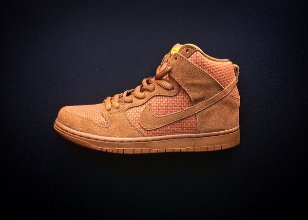 "NIKE DUNK HIGH PREMIUM SB ""BROWN ALE"" (2015) - ATLES"