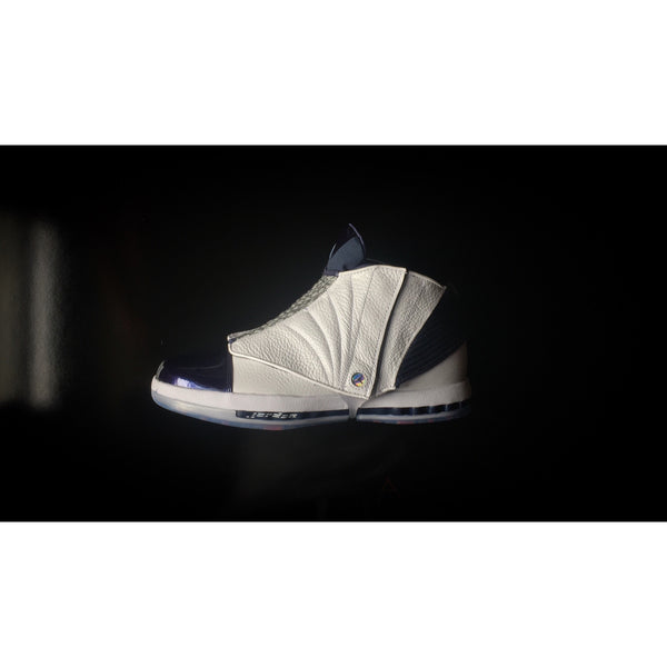 "NIKE AIR JORDAN 16 RETRO ""MIDNIGHT NAVY"" - ATLES"