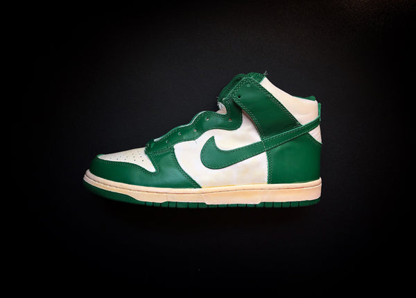 "NIKE DUNK HIGH VNTG QK ""CELTIC PINE GREEN"" (2008) - ATLAS"