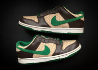 "NIKE DUNK LOW 6.0 NKE ""PINE GREEN - HEMP"" (2009) - ATLAS"