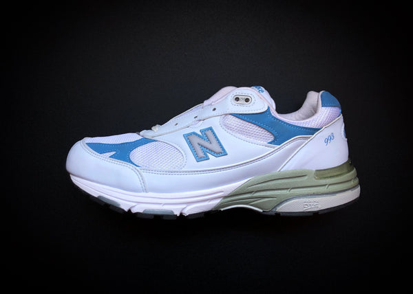 "NEW BALANCE 993 WMNS MADE IN USA ""WHITE - BLUE"""