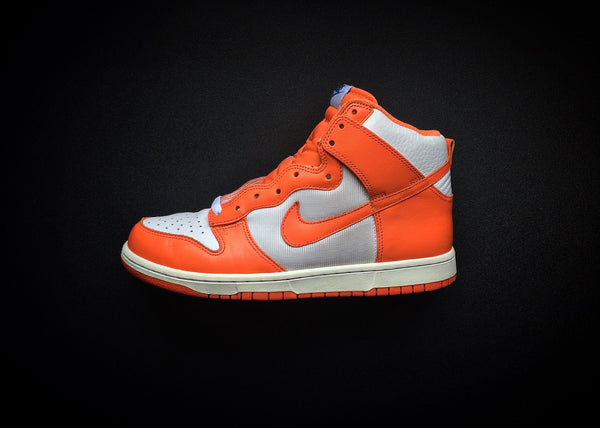 "NIKE DUNK HIGH SAIL ""ORANGE BLAZE - SYRACUSE"" (2009) - ATLAS"