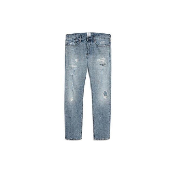 GAP x GQ x MICHAEL BASTIAN DISTRESSED DENIM JEANS - ATLAS