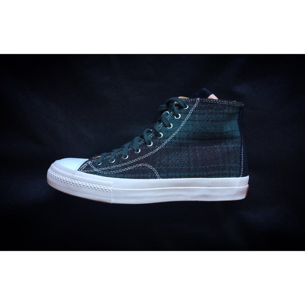 "VISVIM SKAGWAY HI BUFFALO CHECK ""GREEN PLAID"" - ATLES"