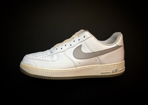 "NIKE AIR FORCE 1 LOW ""WHITE - GREY"" [2011]"