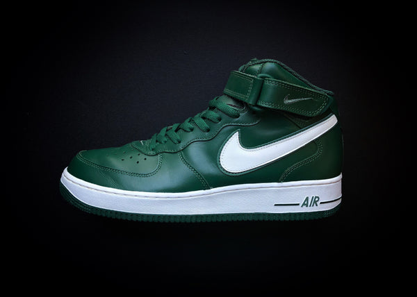 "NIKE AIR FORCE 1 MID LE ""FOREST GREEN"" (2003) - ATLAS"