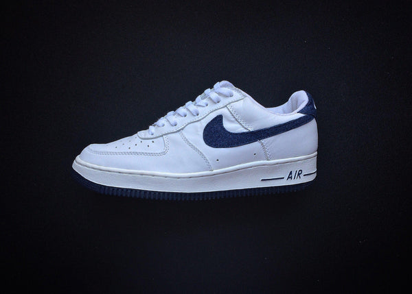 "NIKE AIR FORCE 1 ""WHITE - NAVY DENIM"" (2002) - ATLAS"
