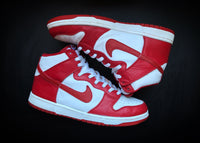 "NIKE DUNK HIGH ""VARSITY RED - ST. JOHN"" (2004) - ATLAS"