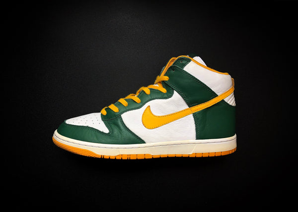"NIKE DUNK HIGH ID ""GREEN BAY PACKERS"" (2007)"