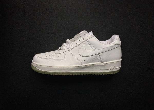 "NIKE AIR FORCE 1 B LOW ""WHITE - ICE - TRANSLUCENT"" (2002) - ATLAS"