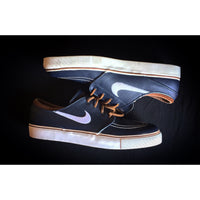 "NIKE STEFAN JANOSKI LOW PRO SB ""OBSIDIAN LEATHER"" - ATLAS"
