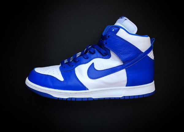 "NIKE DUNK HIGH RETRO QS ""KENTUCKY"" (2016) BE TRUE TO YOUR SCHOOL"