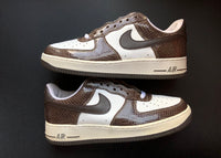 "NIKE AIR FORCE 1 LOW PREMIUM ""BROWN SNAKE"" (2004)"