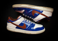 "NIKE DUNK LOW ID ""PATENT LEATHER BLUE"" (2006) - ATLAS"