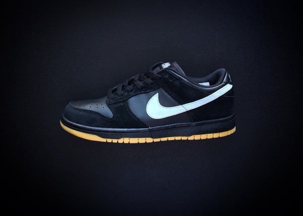 "NIKE DUNK LOW 6.0 NKE ""BLACK/GUM"" (2007) - ATLAS"