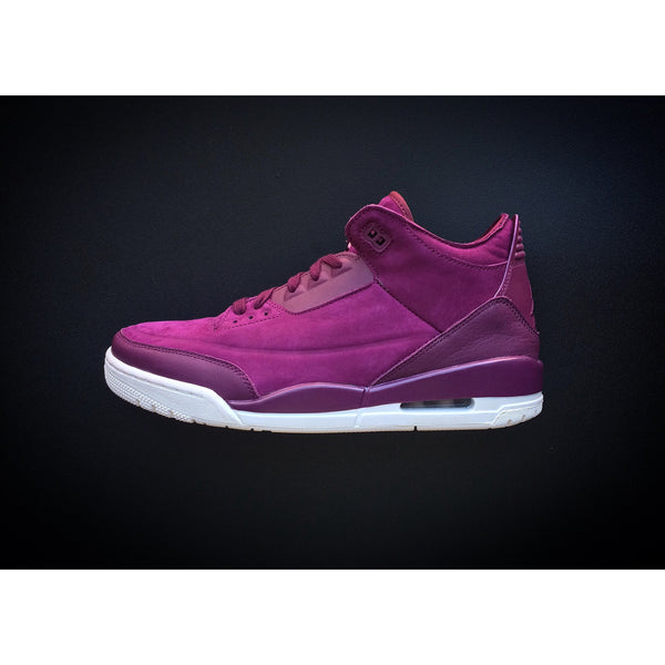 "WMNS NIKE AIR JORDAN 3 RETRO ""BORDEAUX"" - ATLAS"