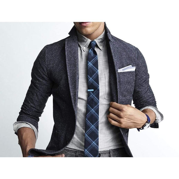 GAP x GQ x THE HILLSIDE HERRINGBONE SPORTS BLAZER - ATLAS