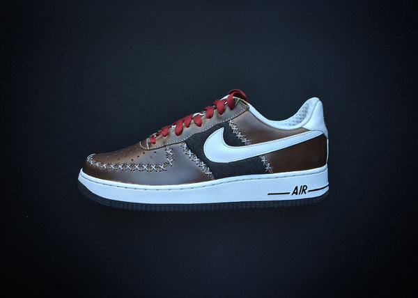 "NIKE AIR FORCE 1 LOW PREMIUM UT ""BASEBALL PACK NY CUBANS"" (2005) - ATLAS"