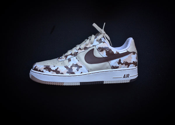 "NIKE AIR FORCE 1 LOW PREMIUM ""BIRCH - CHOCOLATE CAMO"" (2006) - ATLAS"