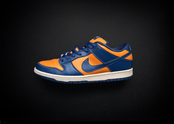 "NIKE DUNK LOW PRO SB ""FRENCH BLUE - SUNSET ORANGE"" (2011)"