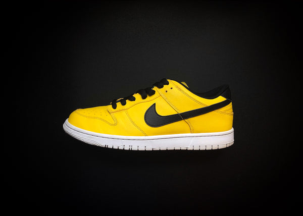 "NIKE DUNK LOW ID ""YELLOW - BLACK"" (2014) - ATLAS"