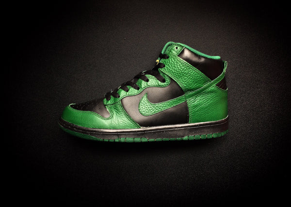 "NIKE DUNK HIGH ""GORGE GREEN - BLACK"" (2012) - ATLAS"