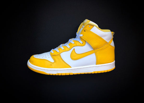 "NIKE DUNK HIGH ""VARSITY MAIZE - CANARY YELLOW"" (2012) - ATLAS"