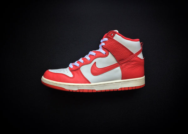 "NIKE DUNK HIGH COLLEGE PACK ""ACTION RED SAIL"" (2012) - ATLAS"