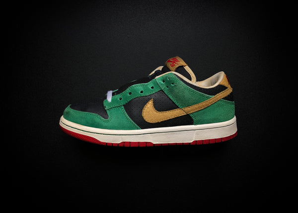 "NIKE DUNK LOW PREMIUM SB ""MILLER HIGH LIFE"" (2009) - ATLAS"