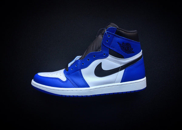 "NIKE AIR JORDAN 1 RETRO HIGH OG ""GAME ROYAL"" (2018)"