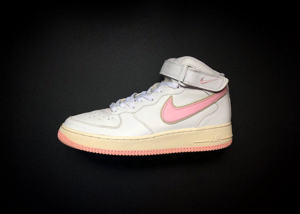 "NIKE AIR FORCE 1 MID WMNS ""SHY PINK"" (2005) - ATLAS"