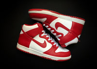 "NIKE DUNK HIGH COLLEGE PACK ""VARSITY RED - ST. JOHNS"" (2009) - ATLAS"